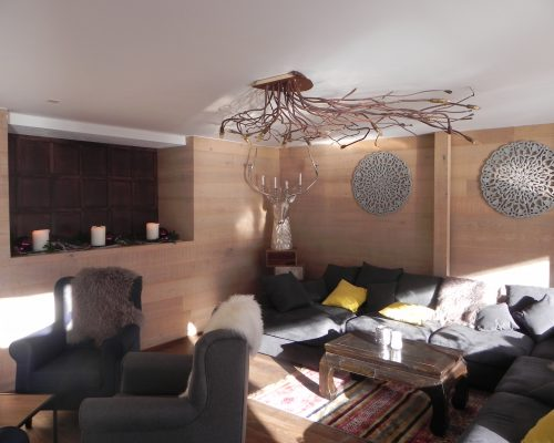 Hotel Lodge-inn Fiesch - Lounge
